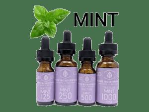 Pure Scientifics - Full Spectrum Tincture - Mint