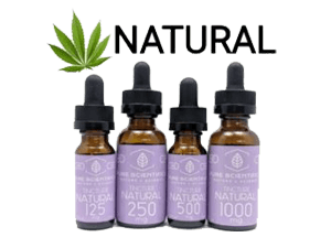 Pure Scientifics - Full Spectrum Tincture - Natural