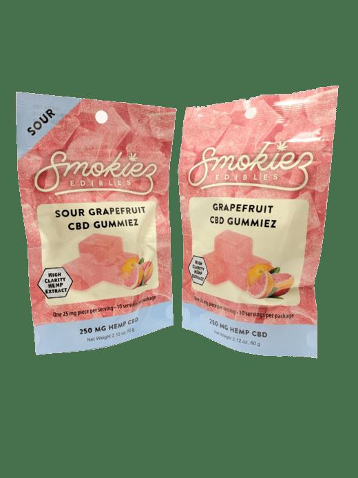 Smokiez Edibles CBD Gummiez - Pink Grapefruit (250mg)