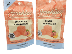 Smokiez Edibles CBD Gummiez - Peach (250mg)
