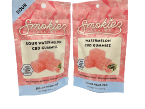 Smokiez Edibles CBD Gummiez - Watermelon (250mg)