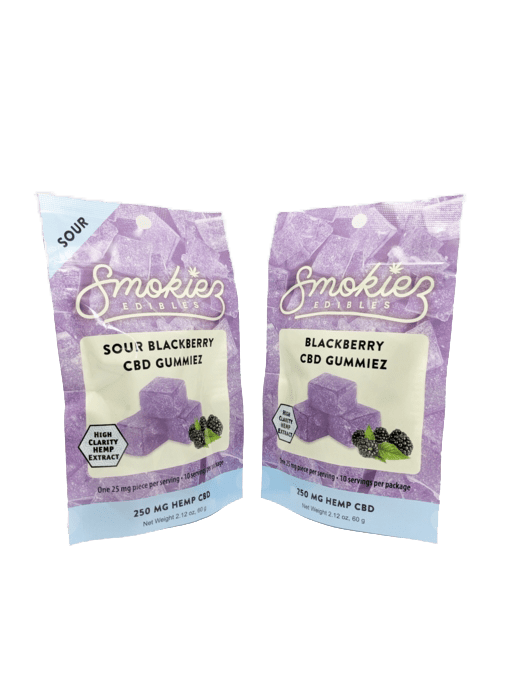 Smokiez Edibles CBD Gummiez - Blackberry (250mg)