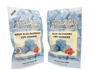 Smokiez Edibles CBD Gummiez - Raspberry (250mg)