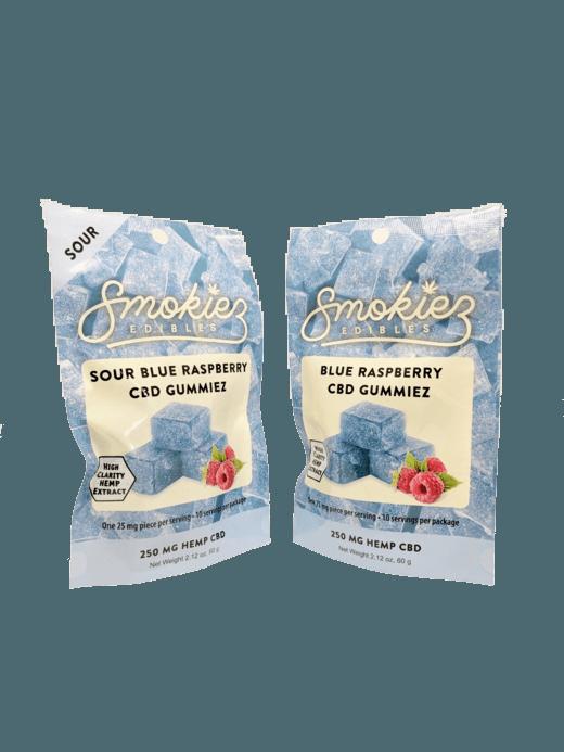Smokiez Edibles CBD Gummiez - Raspberry (250mg)