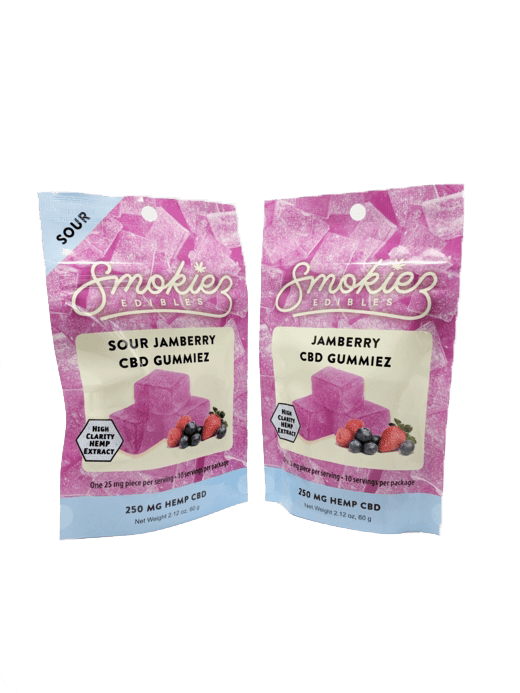 Smokiez Edibles CBD Gummiez - Jamberry (250mg)