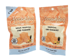 Smokiez Edibles CBD Gummiez - Tropical Fruit (250mg)