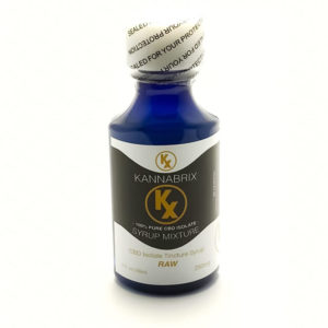 Kannabrix CBD Isolate Raw Tincture Syrup