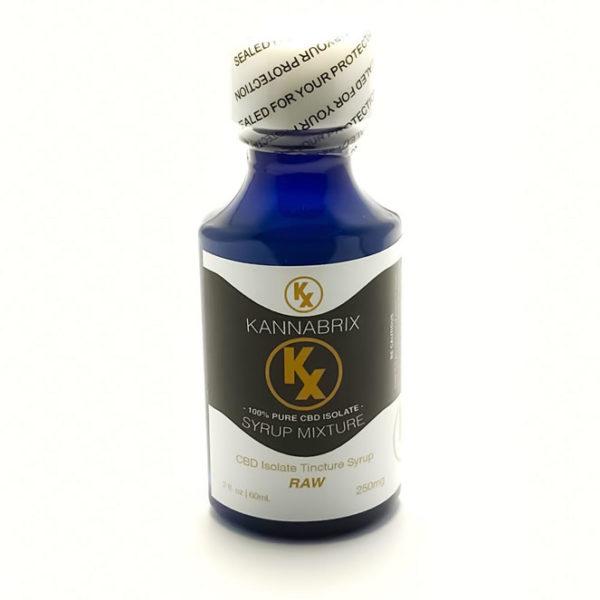Kannabrix CBD Isolate Raw Tincture Syrup