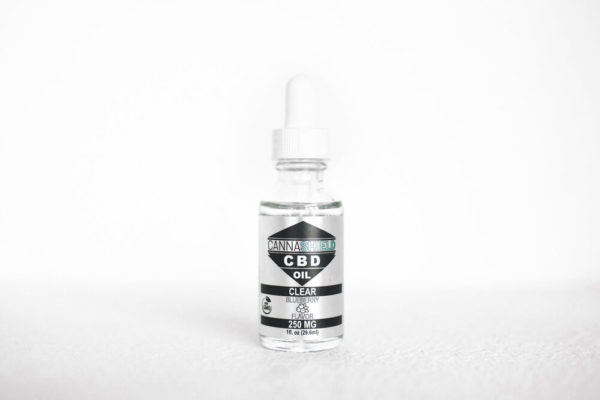 Cannashield Clear 250mg Distillate - Blueberry
