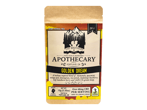 The Brothers Apothecary - Golden Dream Tea - 180mg