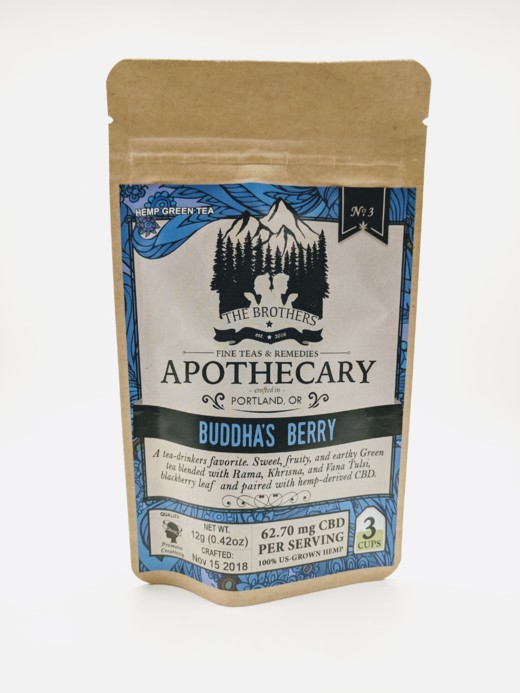 The Brothers Apothecary - Buddha's Berry Tea - 180mg