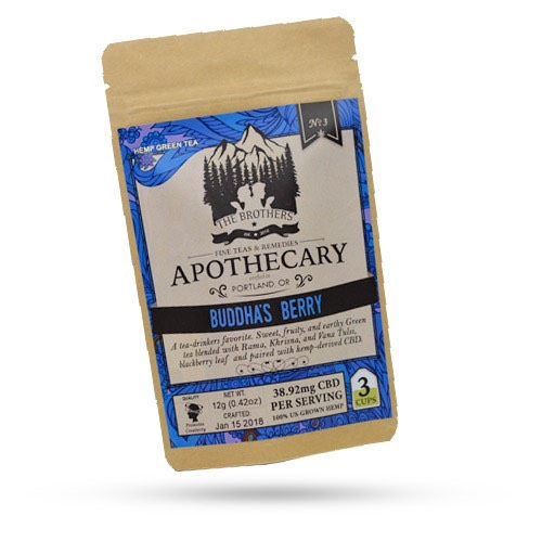 The Brothers Apothecary Buddha's Berry CBD Hemp Tea