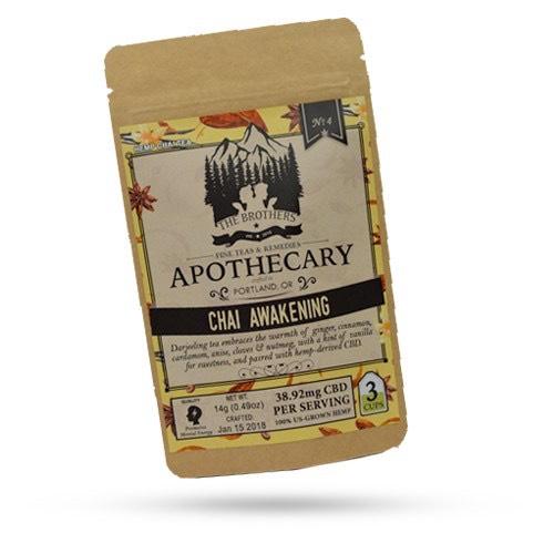 The Brothers Apothecary Chai Awakening CBD Hemp Tea