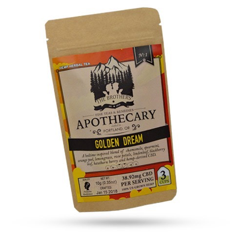 The Brothers Apothecary Green Dream CBD Hemp Tea