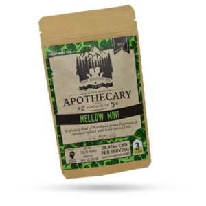The Brothers Apothecary Mellow Mint CBD Hemp Tea