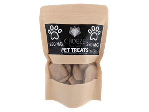 CBDEZE Pet Treats - 250MG