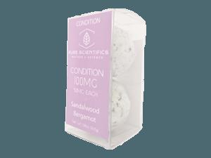 Pure Scientifics - Bath Bombs - Condition - 100mg