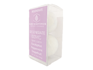 Pure Scientifics - Bath Bombs - Regenerate - 100mg