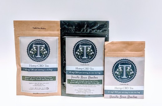 Tranquility Tea - Vanilla Bean Rooibos (caffeine free)