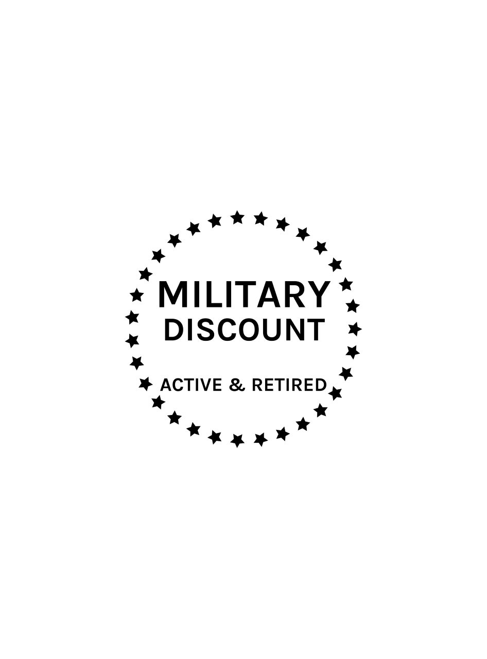 Military Discount Badge