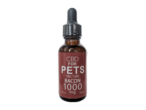 CBD for Pets - Full Spectrum Tincture - Bacon