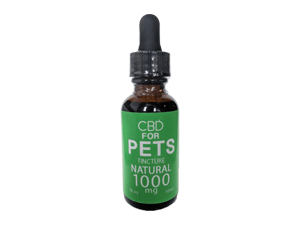 CBD for Pets - Full Spectrum Tincture - Natural