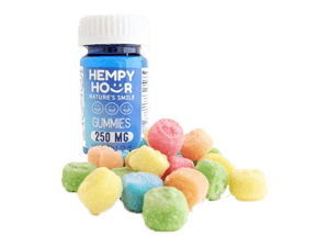 Hempy Hour Smiley Gummies - 250mg