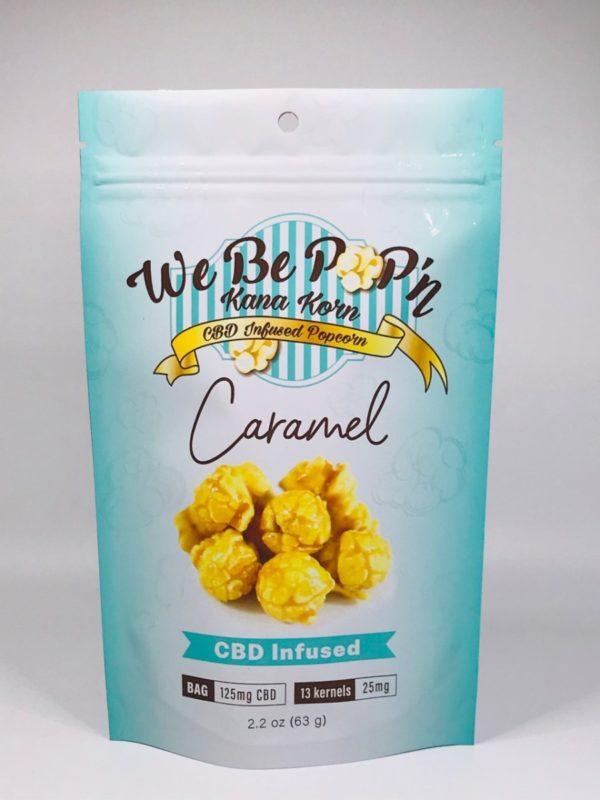 Kana Korn CBD Popcorn - Caramel - 125mg